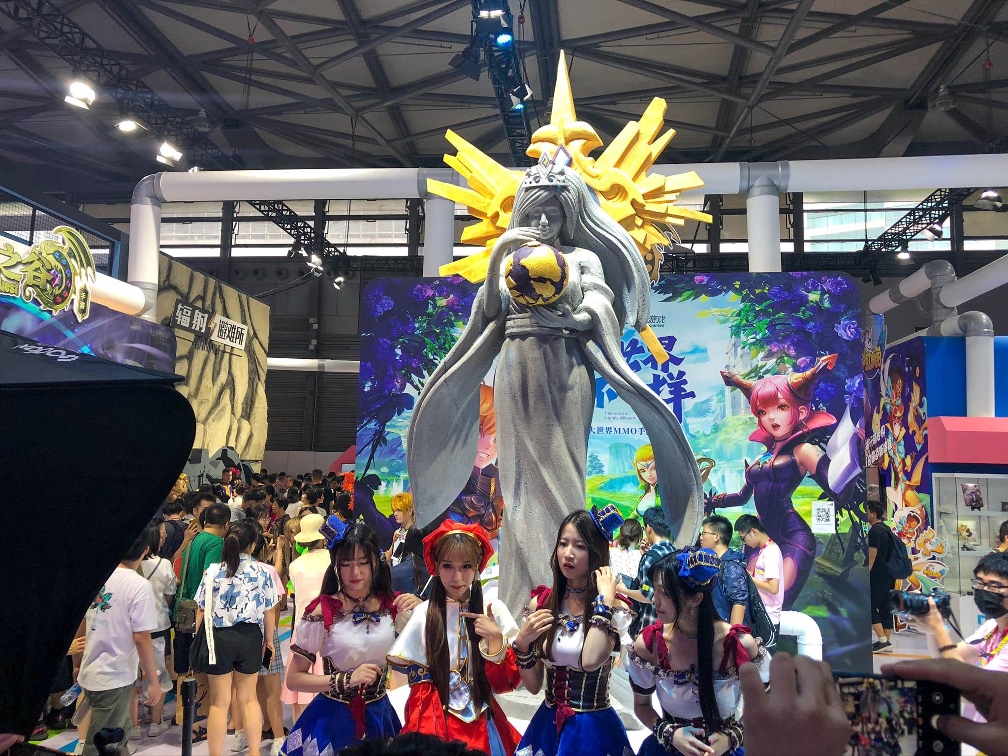 2019 ChinaJoy 中国国际数码互动娱乐展览会 游玩 第46张